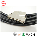 3M Mini D Ribbon MDR 68P cable with 60 degree metal junction shell
