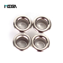 Handbag clothes accessory nickel free gold curtain rectangle stainless steel oval custom eyelets metal shoe eyelet for bags