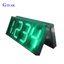7 segment outdoor double sided led sign board