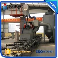 High efficiency steel pipe blasting machine, steel pipe inner and outer wall shot blaster