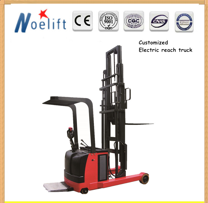 small forklifts 1-2tons 1.6-5.5m lifting height electric reach truck for sale