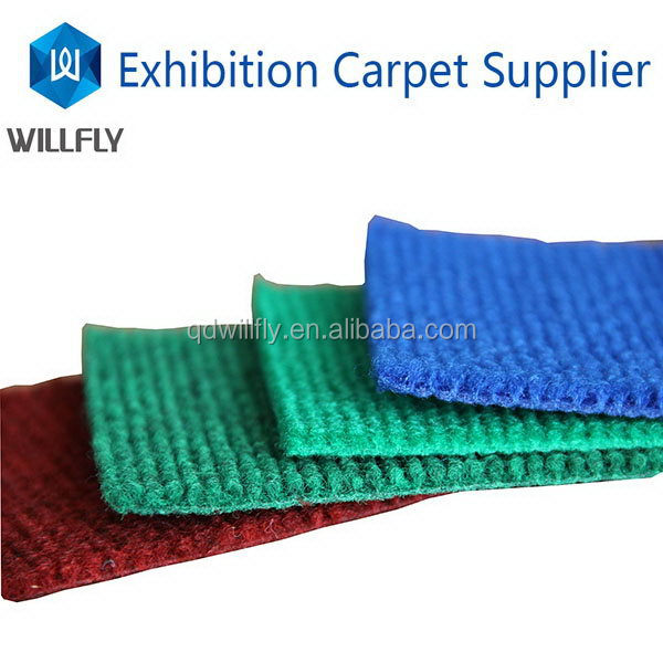 Good quality best sell polyester back rubber carpet