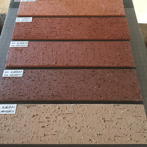 Types of thin clay refractory bricks wall ceramics tiles