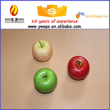 Yiwu Artificial apple fruit for sale/fake fruit apple for kids diy and decoration