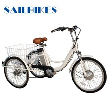 three wheel electric bicycle tricycle for adult