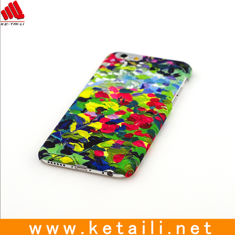 water mark PC Mobile phone cover for iphone 6 / 6S made in China