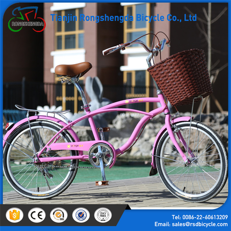 Hot sale black red beach bike/26 inch beach cruiser long beach cruiser bike/ City bicycle in alibaba