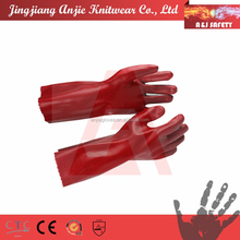 chemical resistant Cut level 5 PVC gloves