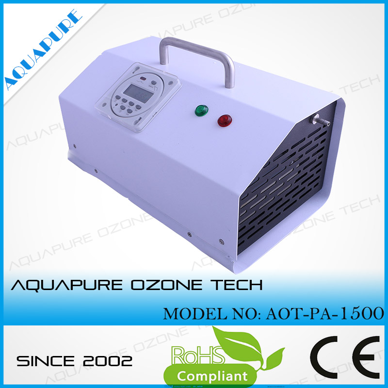 Portable 1.5g/h ozone generator ion