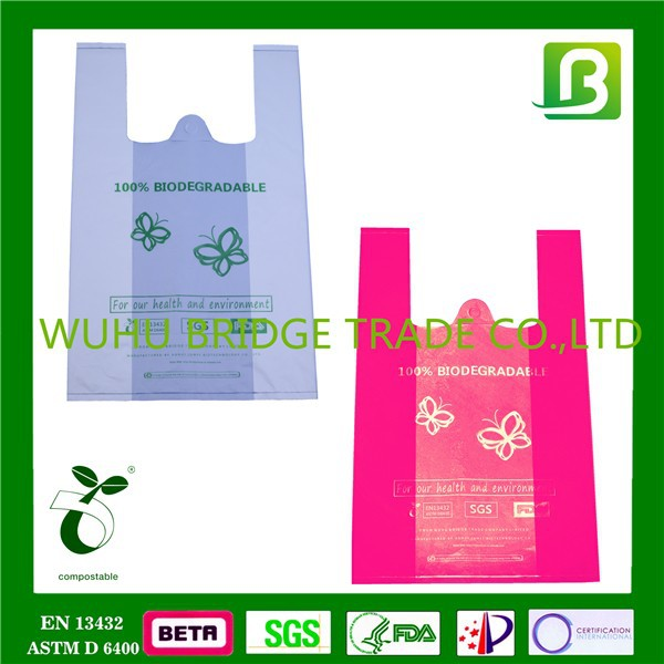 China supplier Biodegradable winnie the pooh shopping bags