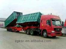 China 6 wheel dump truck load volume capacity for factory use