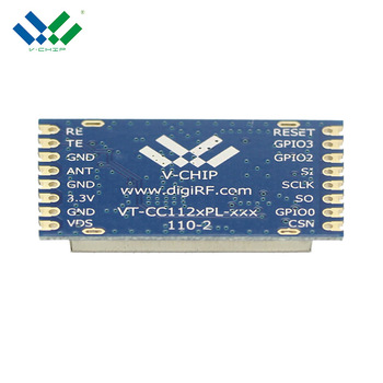 High power 26dbm long distance 5000M CC1120 LNA 868mhz rf module for Smart water meter