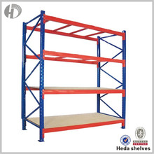 Custom Printed 2015 Promotional Blue And Orange Pallet Racking