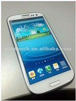 S3 i9300 2012 new cell phone mtk 6577 dual core 1.2Ghz