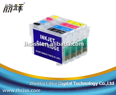 Lifei T0711-T0714 refill ink cartridge with reset chip for Epson Stylus D78/D92/DX7000F/DX5000