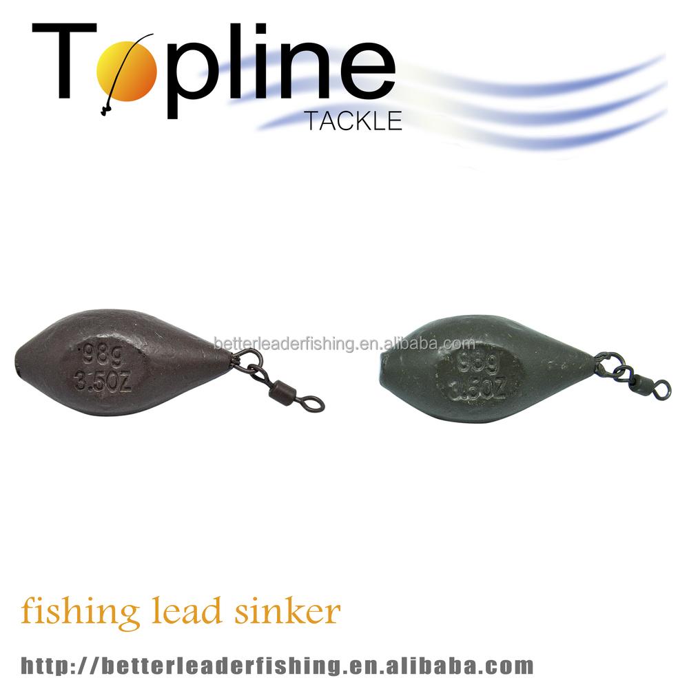 Top quality wholesale cheap lead sinkers carp lead buy for Fishing sinkers bulk