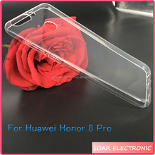[Soar]Ultra Thin High Clear Gel Back Cover Case For Huawei Honor 8 Pro V9