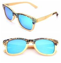 100% Handmade wood sunglasses bamboo Wholesale Sunglasses China