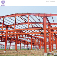 prefabricated steel structure warehouse/frame structure house