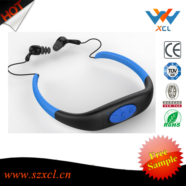 Factrory super professional swimming waterproof sport mp3 <strong>player</strong>