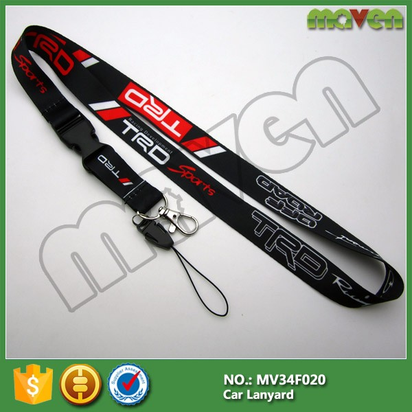 TRD Racing Development Sport Lanyard Neck Cell Phone Key Chain Strap for GT86 RAV4 FR-S