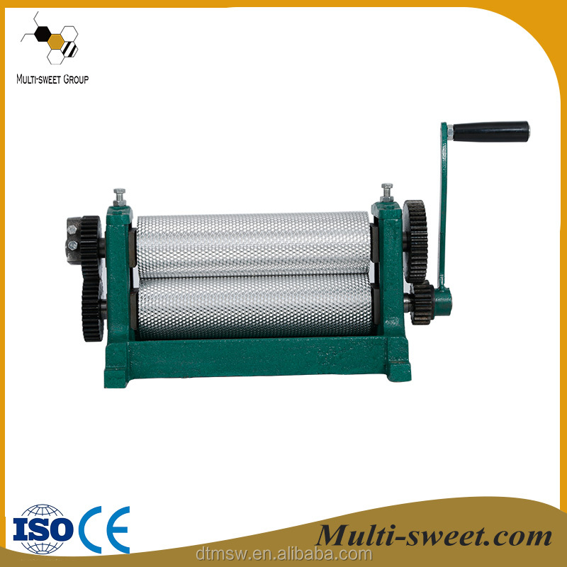 Top quality manufacture direct supply beeswax foundation sheet machine