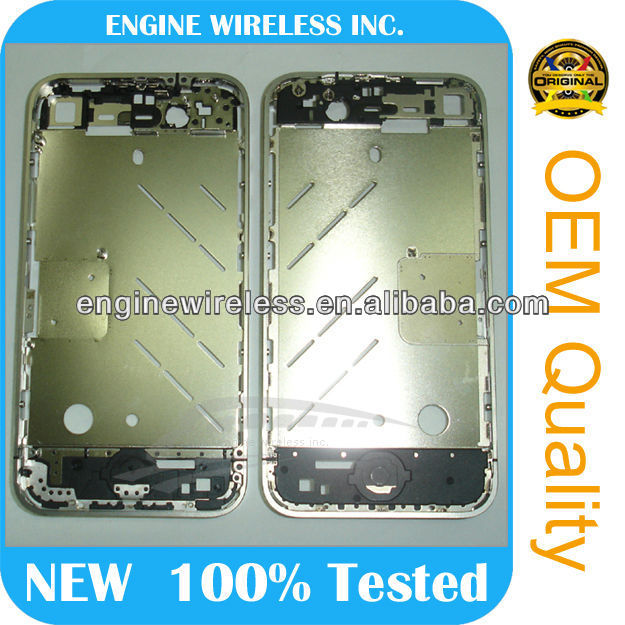 brand new for iphone 4 middle housing bezel chassis
