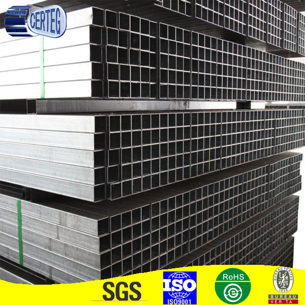 Thin Wall 25mm Welded Rectangular Cheap Steel Square Tubing
