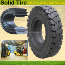 355/65-15 rubber forklift solid tyres/ solid rubber tires for lawnmower/forklift/cars/trucks