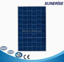 solar charger home 250w poly for pitch roof 4kw system