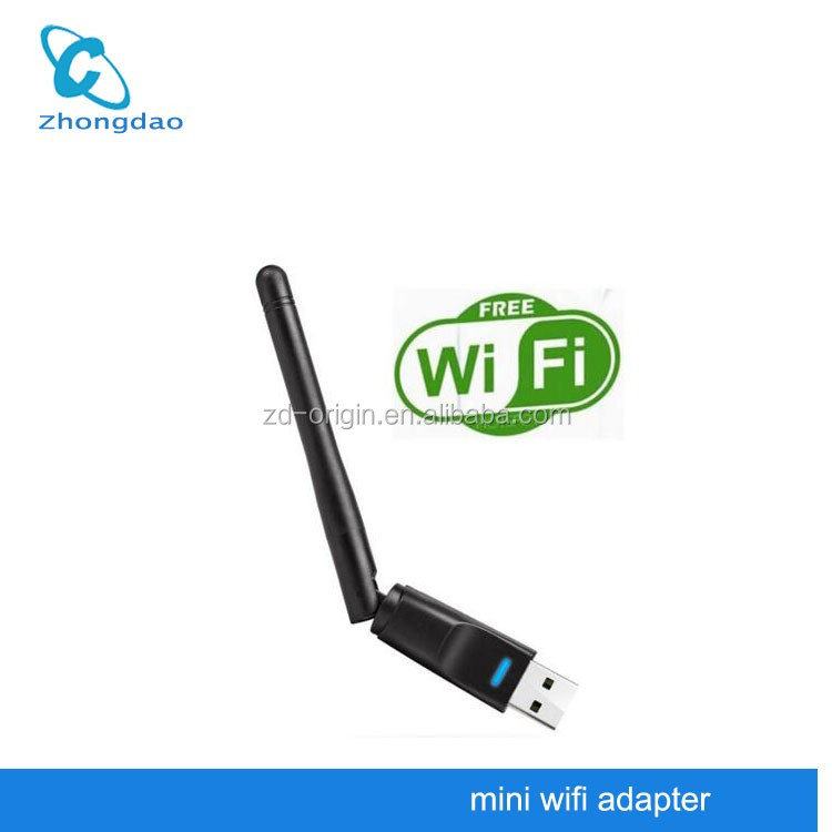 High quality ralink rt5370 usb adapter network portable wireless micro usb wifi adapter
