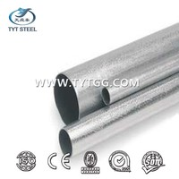 "gi water round steel pipe astm galvanized pipe specifications 1"" gi conduit pipe"
