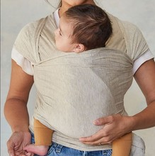 New style bamboo breathable stretch baby sleeping wrap carrier