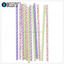 2015 New Design Most Popular Carnival Circus Paper Straws