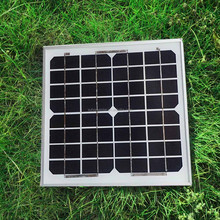 Price Per watt solar panels for home photovoltaic 10W Monocrystalline solar panels