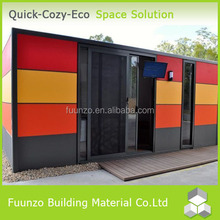 Mobile Living Multi-color Flat-packed Prefabricated Container Store