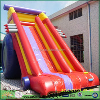 Inflatable water slide/dry slide with swimming pool