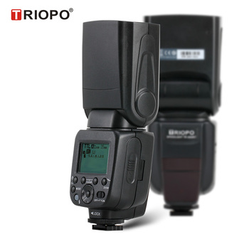 TRIOPO TR600 Professional Speedlite TTL Camera Flash with 2.4G wireless with *High Speed Sync* for Digital SLR Cameras
