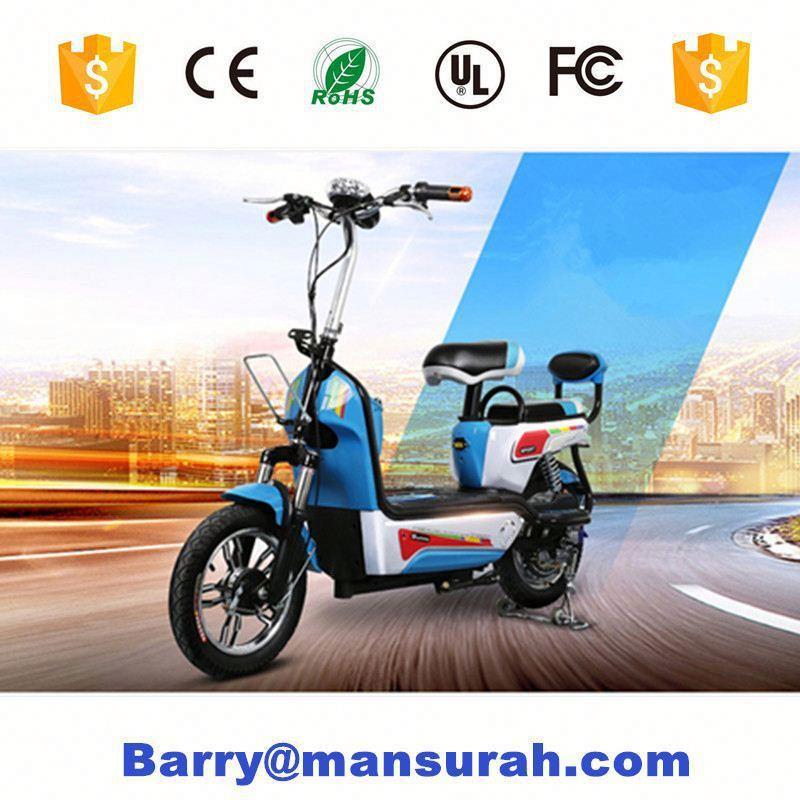 "20"" 36V lithium battery 250W brushless rear motor driver small folding electric bicycle ( PN-EBN202Z )"