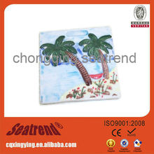 2013 hot sale customized souvenir resine magnets with beautiful landscape