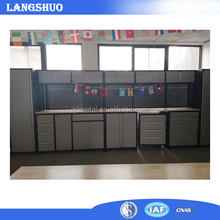 Space larger combination tool workbench with drawers stainless steel tool box roller cabinet