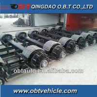 12ton,14ton bpw trailer axles and parts