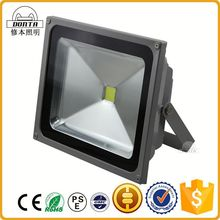Bridgelux outdoor ip65 dimmable rechargeable led flood light 100w