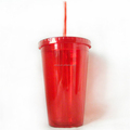 BPA free plastic drinking cups plastic cup with straw