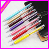 new product crystal pen with stylus silicone decorating pen