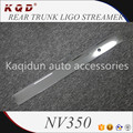 Brand new Factory price ABS Plastic rear trunk ligo streamer for nv350 2016~on nv350 parts