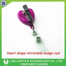 Promotion retractable badge Reel Keychain