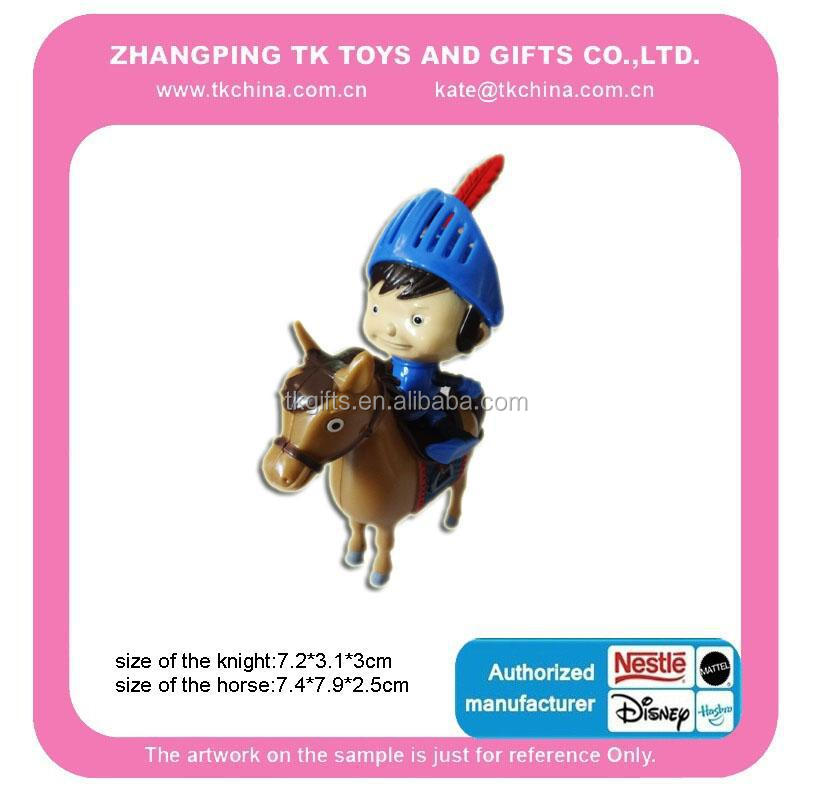 Plastic Mini Size Kid Toy Knight Ride On Horse With Cheap Price