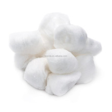 Medical absorbent iodine/alcohol cotton ball