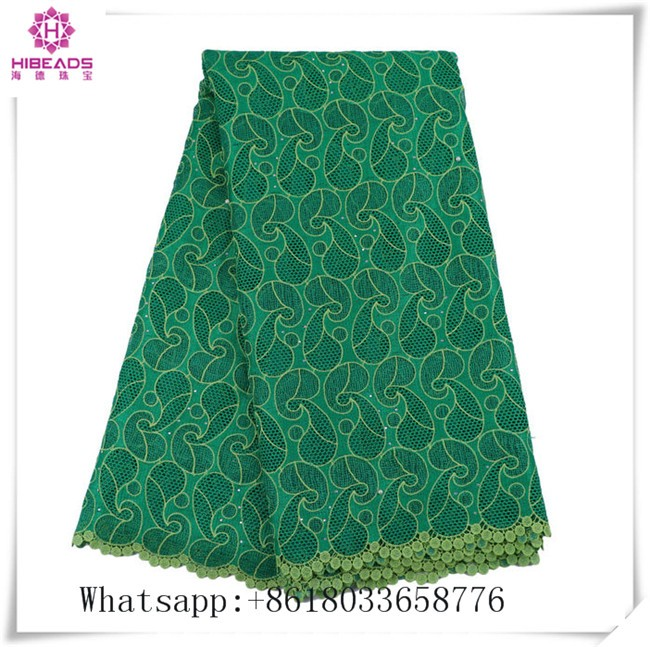 2017 Latest New wholesale african lace fabrics Nigeria embroidery Cord Bridal Tulle lace fabrics